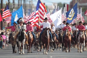 100 Flags Pendleton Round-Up Parade
